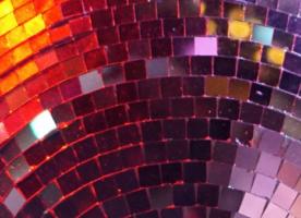Spiegelplättchen aus Kunststoff